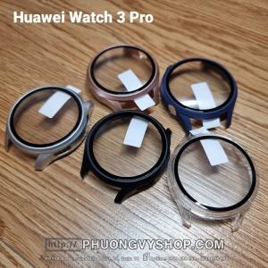 Ốp viền color có màn hình cứng Huawei Watch 3 Pro